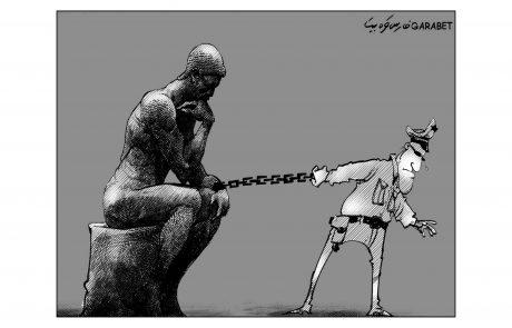 Fares Garabet Karikatur