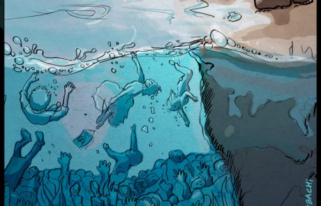 Karikatur Firas Bachi