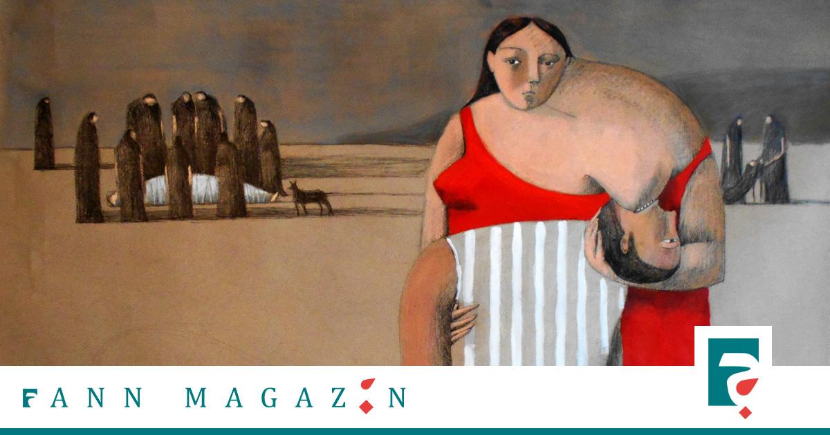 Gemälde Annie Kurkdjian